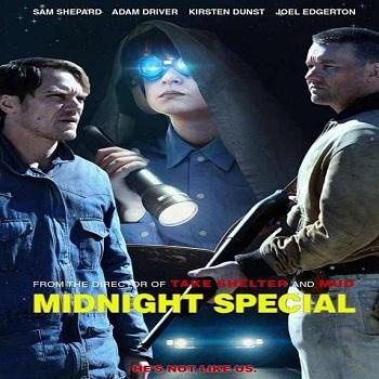 فيلم Midnight Special 2016 مترجم دي فى دي