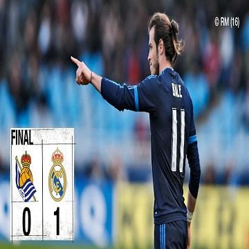 هدف مباراة ريال سوسيداد 0 × ريال مدريد 1