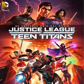فيلم Justice League vs. Teen Titans 2016 مترجم دي فى دي