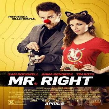 فيلم Mr. Right 2015 مترجم دي فى دي