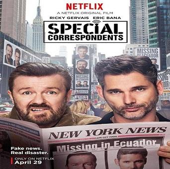 فيلم Special Correspondents 2016 مترجم دي فى دي
