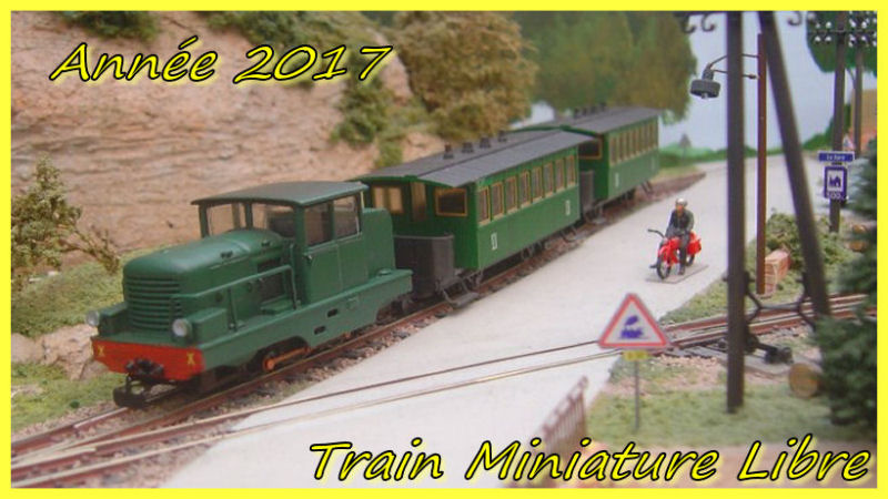 Train Miniature Libre
