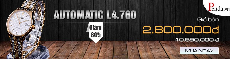 Đồng hồ Longine Automatic L4.760