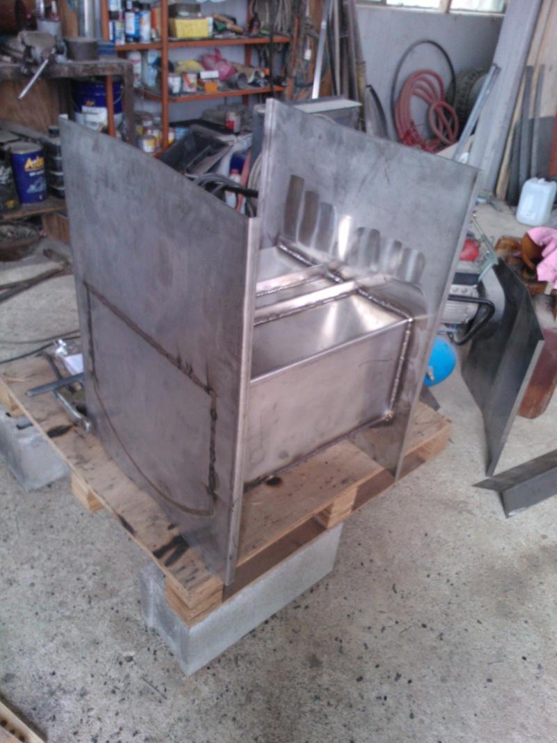 Forno a legna per esterno in acciaio - Forno a legna per esterno ...