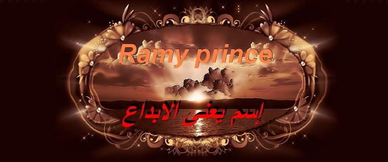 ramy prince