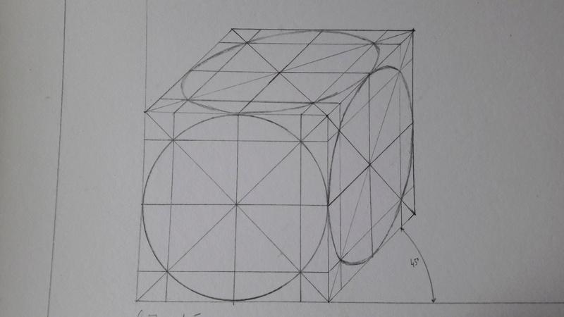 dessin perspective cavali re d 39 anneau