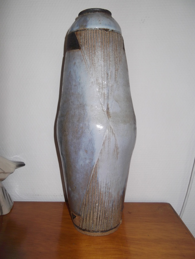 grand vase contemporain la puisaye. Black Bedroom Furniture Sets. Home Design Ideas