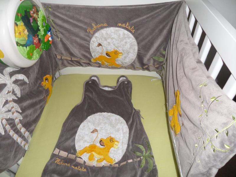 tour de lit bébé simba Chambre Bb Le Roi Lion. Trendy Chambre De Bebe Disney Chambre  tour de lit bébé simba