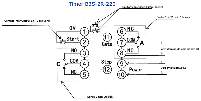 Projet mazzer sj comptition doseur avec timer numrique 1 schma de cblage du timer b3s 2r 200 swarovskicordoba Choice Image