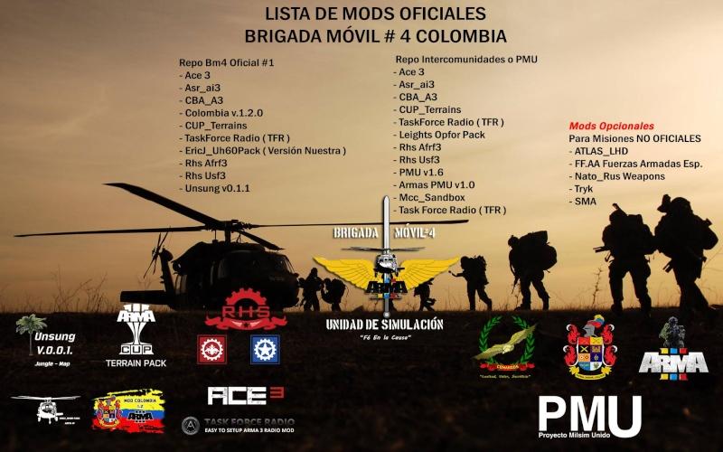BIGRADA MOVIL #4 COLOMBIA