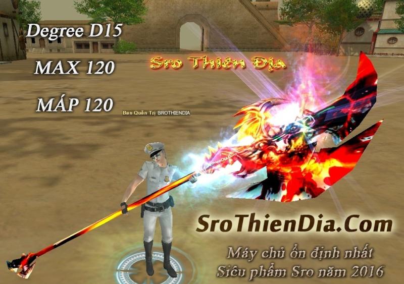 ►►►► SROTHIENDIA.COM | D15 | Max 120 | Skill 120 | Máp 120 chuẩn up