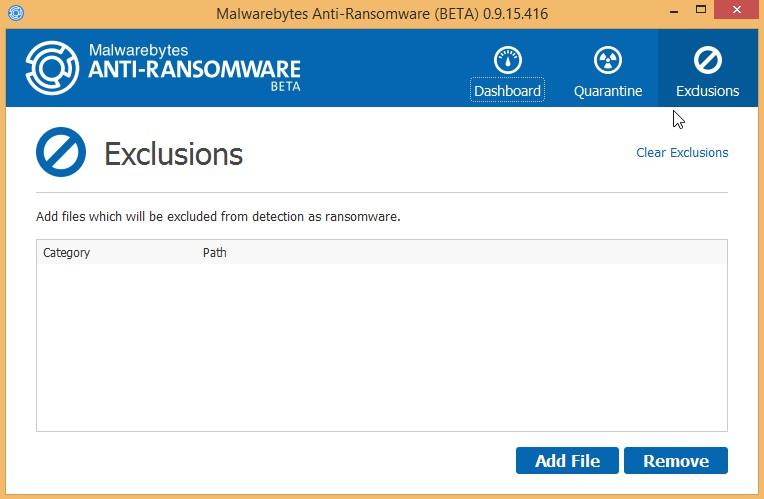 Malwarebytes Anti Ransomware 0916484 Beta 7