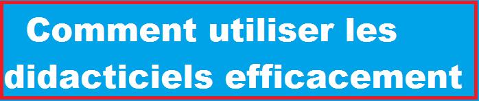 Didacticiel comment utiliser les didacticiels efficacement for Comment utiliser essence f