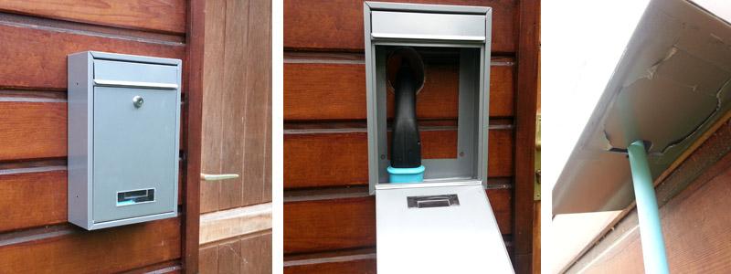 trappe pour passer le c ble de recharge. Black Bedroom Furniture Sets. Home Design Ideas