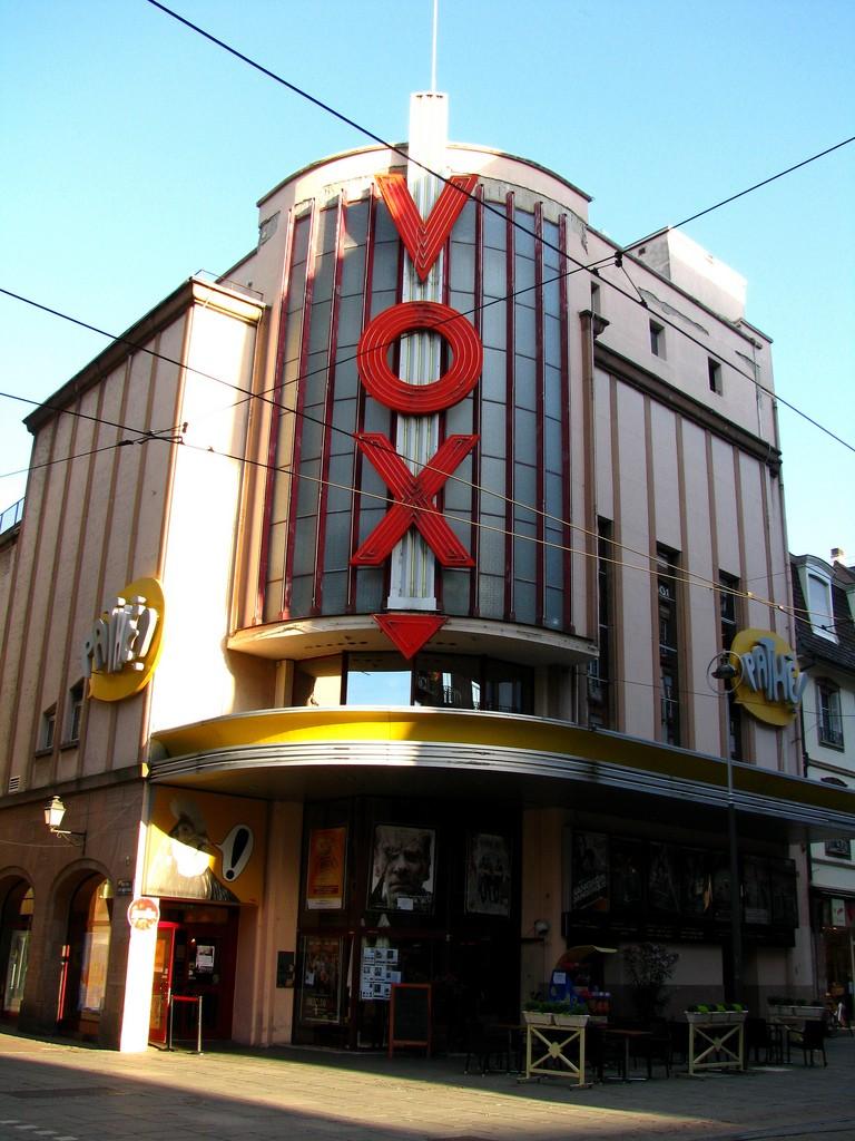 Cinema vox strasbourg france for Strasbourg cinema