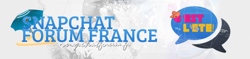 Snapchat Forum France