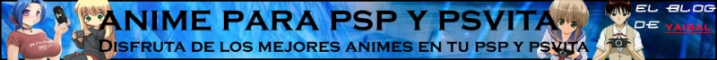Anime en español para PSP y PSVita