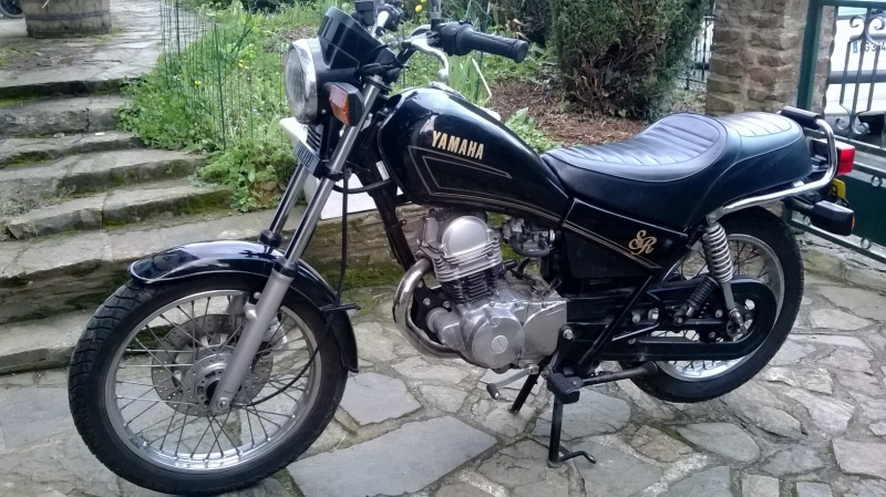 yamaha sr 125 cafe racer review about motors. Black Bedroom Furniture Sets. Home Design Ideas