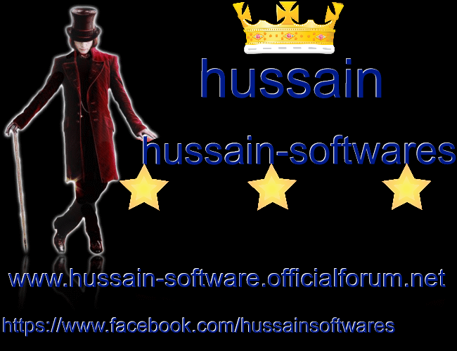 OFFICIAL HUSSAIN SOFTWARES WEBSITE 2017