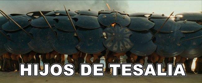HIJOS DE TESALIA
