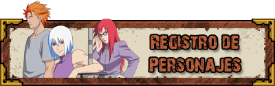 Registro de Personajes