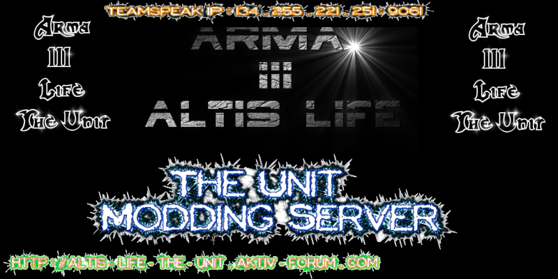 Altis Life The Unit Modding Server
