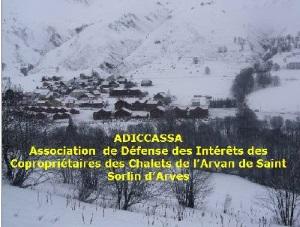 Les Chalets de l'Arvan 1 - Adiccassa